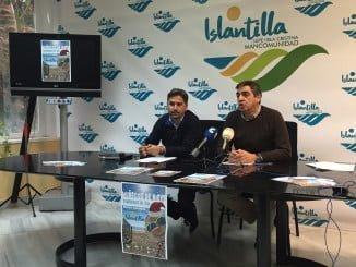 Acto de presentación del III Concurso de Muñecos de Nieve Tumbados al Sol en Islantilla