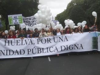 Huelva ya se pronunció sobre la sanidad, pero la Junta hace caso omiso