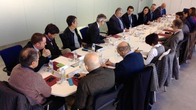 Reunión de la primera Comisión de Asistencia de Asunción Grávalos