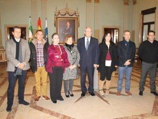 Representantes de las entidades e instituciones que hacen posible la campaña
