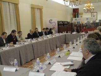 Reunión de la Agrupación de Interés por las Infraestructuras de Huelva