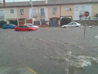 Aljaraque ha sido uno de los municipios de la provincia más afectados por las inundaciones