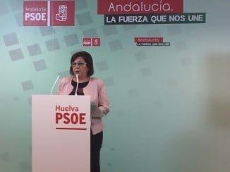 La senadora socialista pide al Gobierno explicaciones sobre las grandes obras e inversiones para Huelva