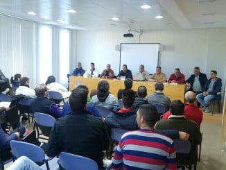 Celebración de la Asamblea del Consorcio de Transporte s Sanitario de Huelva