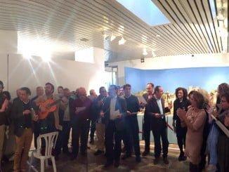 El Belén se ha inaugurado al compás de villancicos flamencos