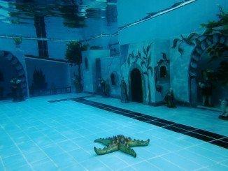 Los niños podrán sumergirse en la piscina junto a los buzos de Bomberos