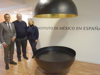 Caraballo y el director del Instituto de México abordan proyectos para 2017