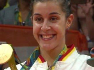 Carolina, tras conquistar el oro olímpico en Río de Janeiro