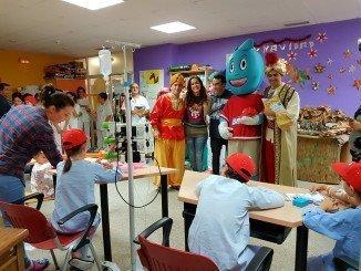 Los pequeños ingresados en el hospital han recibido una grata sorpresa
