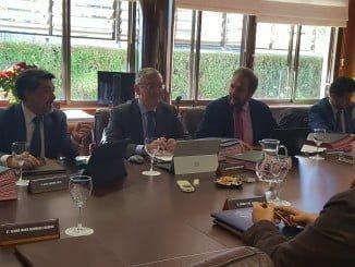 El Consejo de Administración del Puerto de Huelva se ha reunido hoy