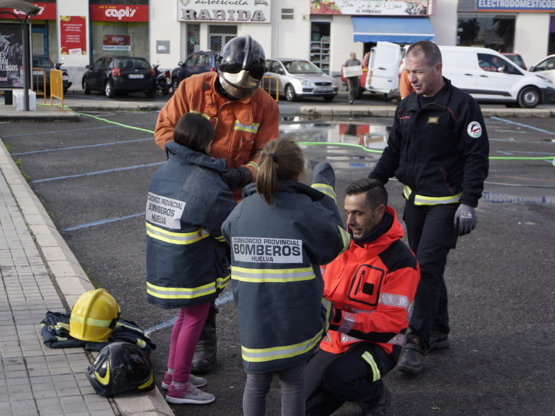 Los escolares aprenden cómo prevenir accidentes en el hogar