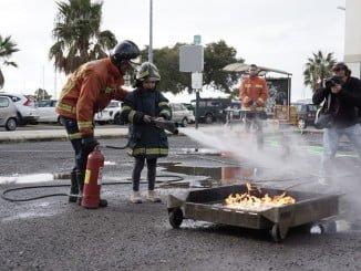 Los escolares de Ayamonte aprendieron los riesgos que hay que evitar en el hogar para no provocar un incendio