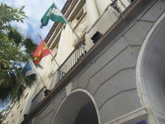 Fachada de la Diputación Provincial de Huelva