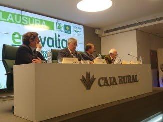 El acto del  25 Aniversario de Ecovalia se celebró en Caja Rural del Sur con la presencia de José Luis García-Palacios Álvarez, como consejero de la entidad.