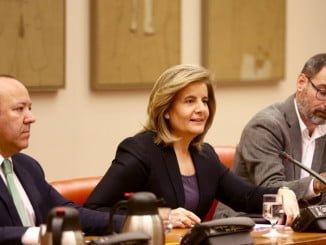 Fátima Báñez en la Comisión de Empleo del Congreso de los Diputados
