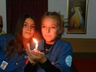 La Luz de Belén llega a Ayamonte de la mano de los Scouts