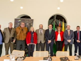 Susana Díaz se reúne con el Consejo Regulador de DOP Jabugo