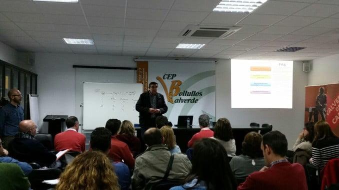 Jornada destinada a los docentes en el Centro del Profesorado Bollullos-Valverde