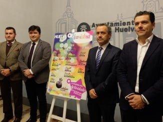 Rueda de prensa para presentar las actividades que se llevarán a cabo en Huelva durante la Navidad