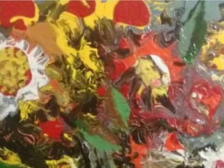 La temática de la exposición es la flor