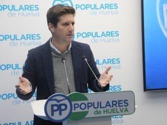 Guillermo García Longoria en rueda de prensa