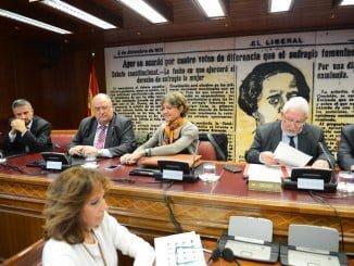 La ministra ha comparecido en la Comisión de Agricultura del Senado
