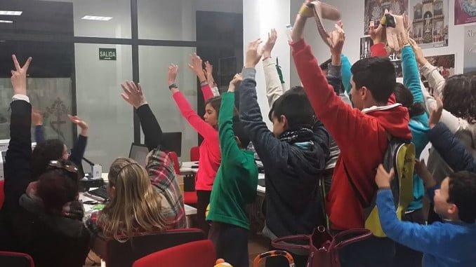 Gymkana digital organizada por el Centro Guadalinfo de Almonaster la Real