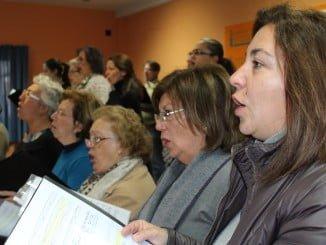 Ensayo previo al concierto de Navidad en La Palma del Condado