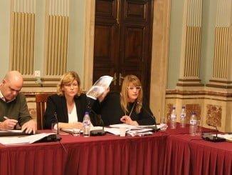 Intervención de Pilar Miranda en el pleno de hoy