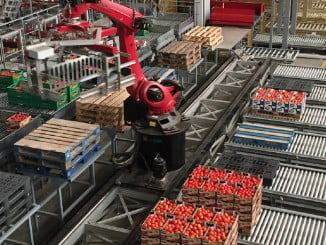 Industria de tomates en Andalucía