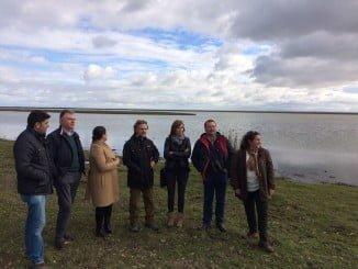 Fiscal comprueba el buen estado de las marismas de Doñana tras las últimas precipitaciones