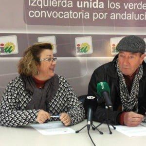 Mónica Rossi y Antonio López, miembro de la comisión que impulsa el proyecto