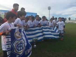 El Recre, presente en este Mundialito en el que han participado ocho escuelas con dos equipos cada una