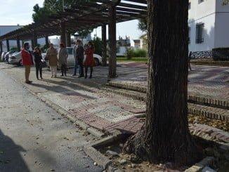 Algunas de las obras que se están llevando a cabo en Almonte