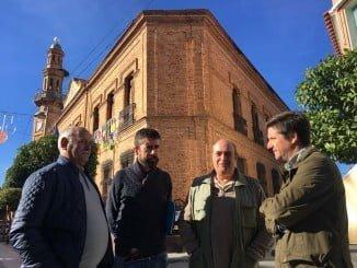 García Longoria ha presentado las enmiendas en la localidad de Nerva