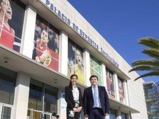 """Desde hoy el Palacio de Deportes de Huelva se llama """"Carolina Marín"""""""