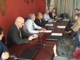 Reunión de representantes de las Cooperativas Agroalimentarias con la Junta