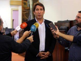 El diputado provincial de Ciudadanos, Ruperto Gallardo