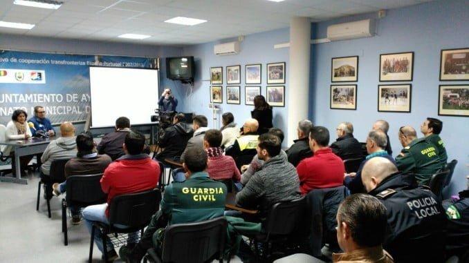 Uno de los talleres impartidos a la Guardia Civil y Policía Local