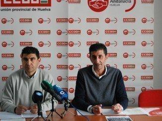Emilio Fernández y Sebastián Donaire anuncian la concentración del 15 de diciembre