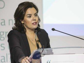 Soraya Sáenz de Santamaría clausuró la Conferencia Anual de AEDE, destacando la importancia que tiene el Big Data en el empleo