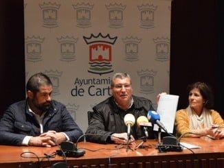El alcalde ha comparecido en rueda de prensa con su equipo de Gobierno tras conocerse la sentencia