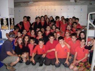 Alumnos del Colegio Montessori