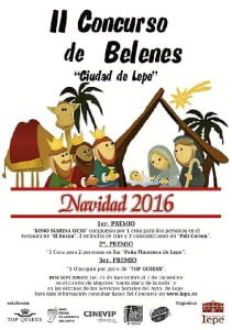 Cartel anunciador del concurso de Belenes