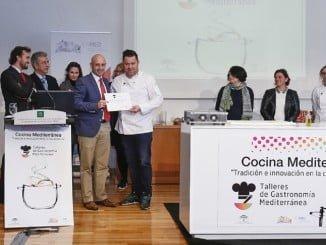 "Francisco José Méndez Calero, ganador del X Concurso de Cocina Mediterránea ""Tradición e Innovación en la Cocina Andaluza"""