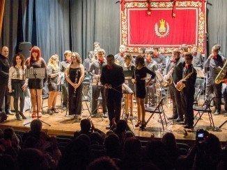 """El concierto fue interpretado por la Banda de Música """"María Santísima del Rosario"""""""
