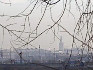 En la imagen, contaminación en Sevilla (Efe. Junta de Andalucía)