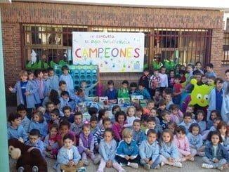 Imagen de una de las ediciones del popular concurso 'El Juego en la Escuela'