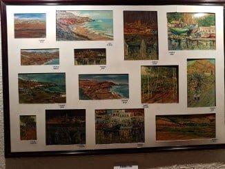 La muestra incluye un centenar de obras inspiradas en el Marruecos de influencia española