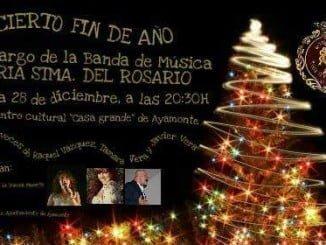 Esta noche concierto Fin de Año en Ayamonte